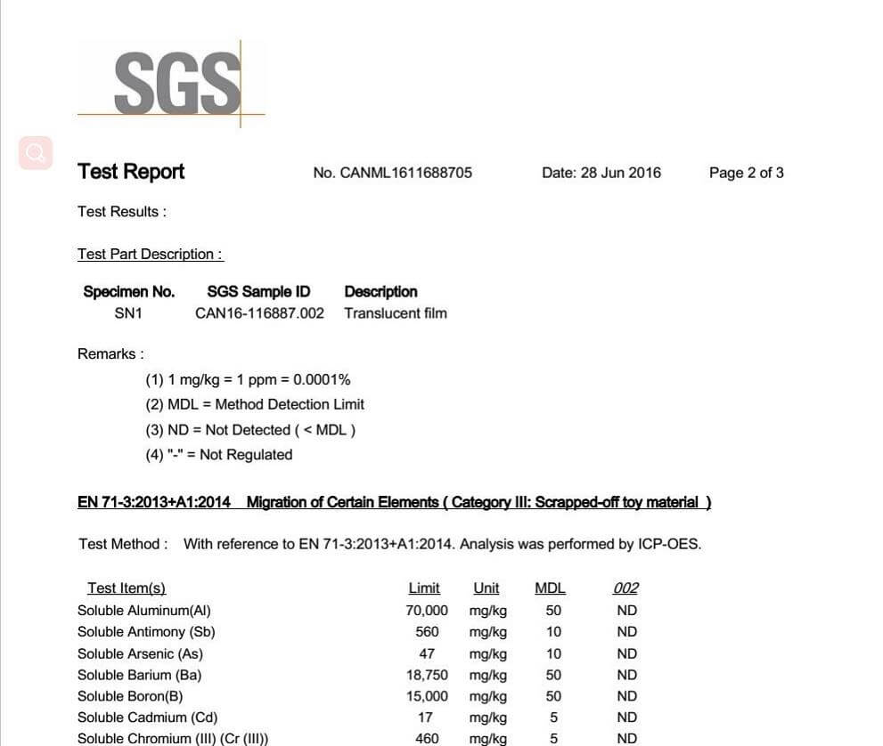 water-soluble-bag-NO-heavy metal-test-report